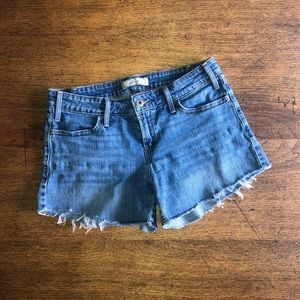 Levi's Cut-Off Jean Shorts